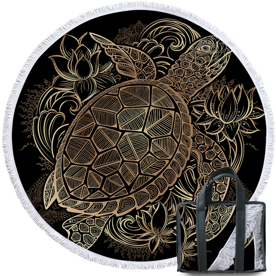 烫金-花龟