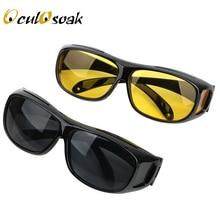 Night Vision Driver Goggles Unisex HD Vision Sun Glasses Car Driving Glasses UV Protection Polarized Sunglasses Eyewear цена и фото