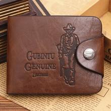 Men wallet Vintage Hollow Out Male Money Bag Hasp Leather Wallet Men Clutch Purse Slim Card Holder Men Wallets Coin Pocket 298