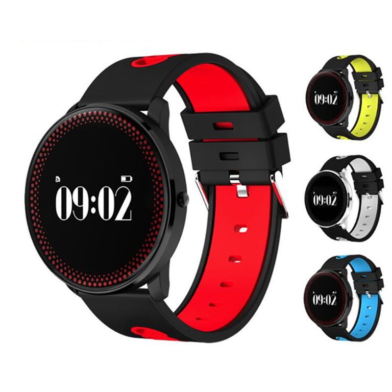 Pulsometer Fitness Watches Blood Pressure  Fitness Tracker Vibrating Alarm Clock Weather Forecast Smart Bracelet For Xiomo