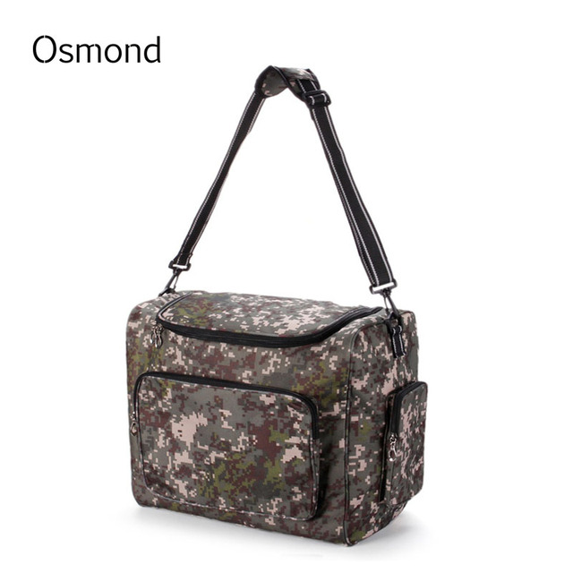 Osmond 2017 Fashion Lunch Bags 36L Food Portable Box Thermal Big Capacity Oxford Camouflage Insulated Picnic Tote Food Storage