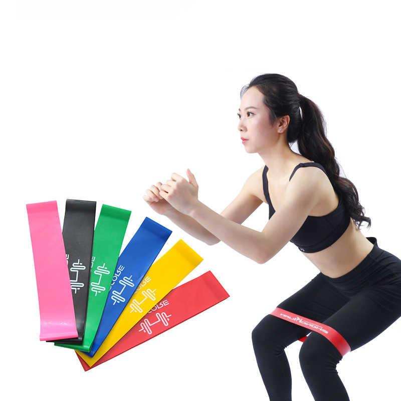 Thảm Tập Yoga Chống Ban Nhạc Thun Tập Thể Hình Ban Nhạc Kẹo Cao Su Nhà Tập Luyện Tập Gym Tập Thể Dục Giãn Nở Cao Su 10