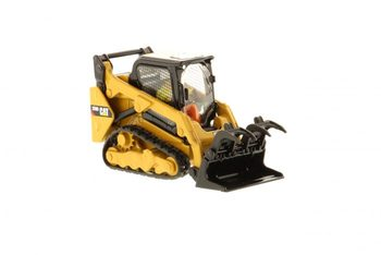 Diecast Toy Model DM 1:50 Caterpillar Cat 259D Compact Track Loader Engineering Machinery 85526 for Gift,Collection,Decoration