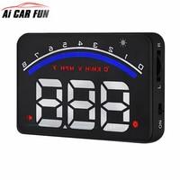 M6 head up 3 5 inch windscreen projector obd2 euobd car driving data display speed rpm.jpg 200x200
