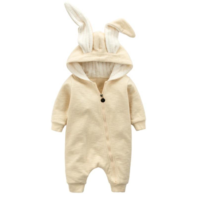 Cotton Baby Girl Clothes Wiosna Baby Rompers Cute Baby Boy Odzież - Odzież dla niemowląt - Zdjęcie 4