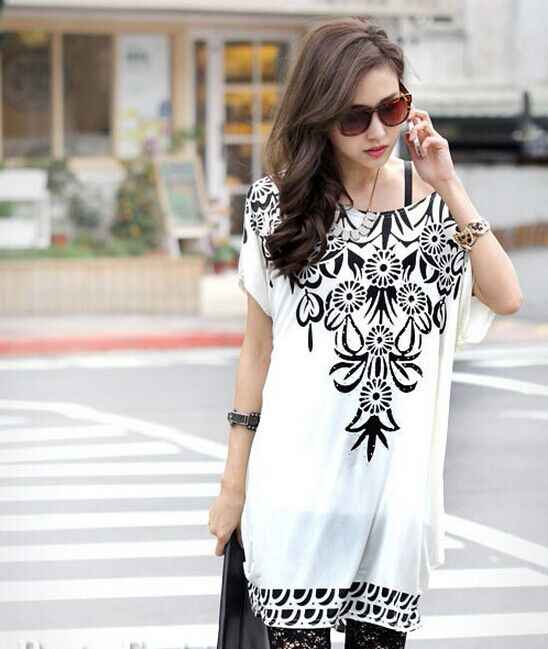 526b5f812d0f4 Blue and White Diagonal Stripes Patterns Tunic Dress For Maternity 2019  summer batwing sleeve off shoulder