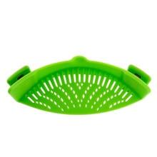 Силиконовый кухонный фильтр фильтры для воды Drainer расширяемое СИТО ДУРШЛАГ стока инструменты кухонные аксессуары овощная посуда
