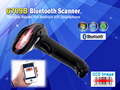 Free Shipping!6709B CCD Image Bluetooth Barcode Reader for Android IOS Phone Support Mobile Payment Computer Screen Scanner
