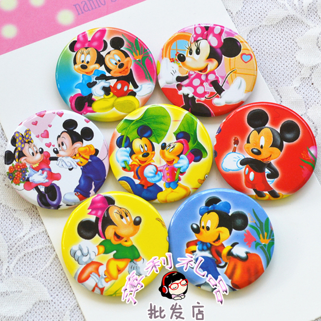 40PCS Cute Cartoon badge brooch pin baby shower decorations baptism favors gifts kids birthday party supplies
