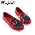 2017 Women Loafers New Brand Driving Moccasins Casuals Boat Shoe Flat Heel  Women Soft Flats Zapatos Mujer BK L52