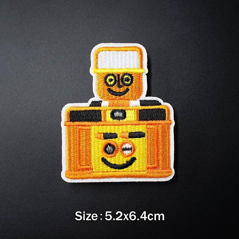 Банан молния кактус DIY тканевые значки для украшения утюга на патч одежда швейное украшение аппликация Пришивные нашивки - Цвет: 24