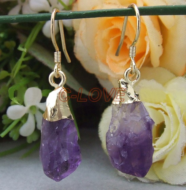 Natural Mineral Druzy Earrings  free+ shippment