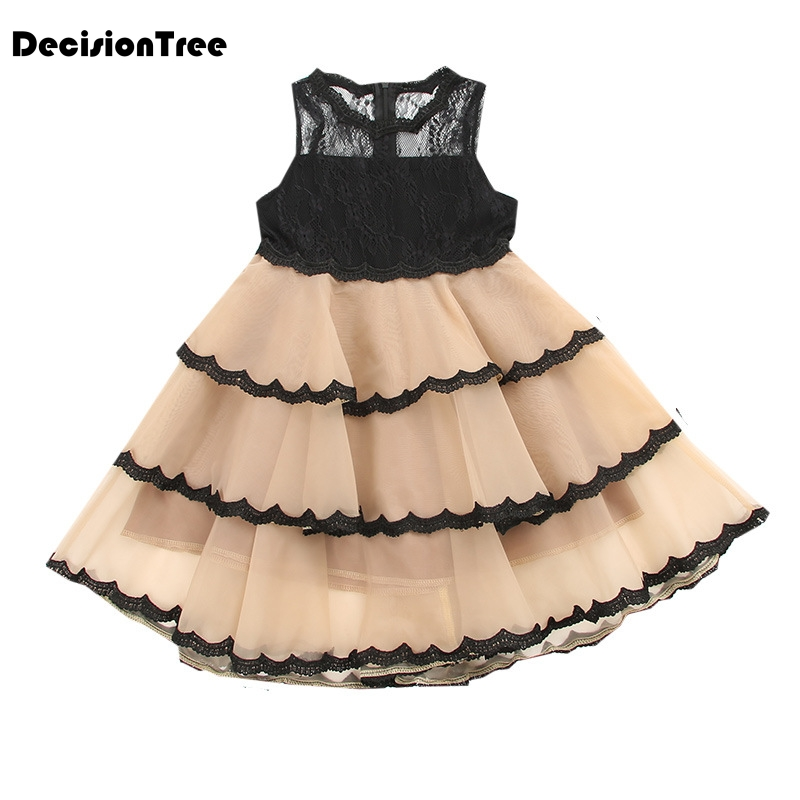 2019 new girls dresses cartoon wings tutu dress for girls kids princess dresses girls clothes robe enfant clothes 5