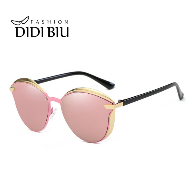 62a212d5b0 DIDI New Polarized Sunglasses Women Brand Vintage Alloy Plastic Frame  Glasses For Driving Goggles Round Ladies Spectacles WN886