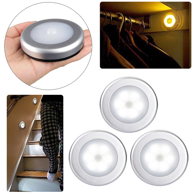 Aliexpress.com : Buy Wireless 6 LED Motion Sensor Light