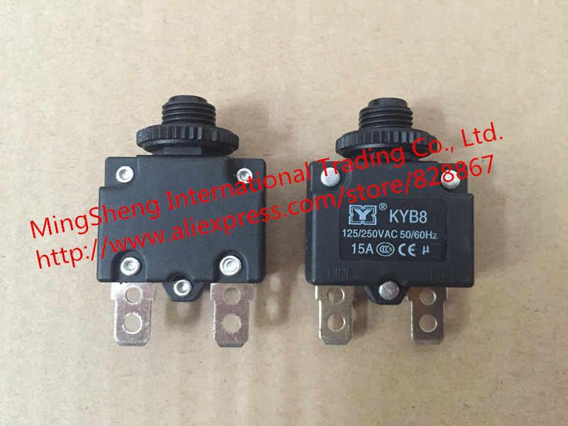 Original nuevo protector de motor 100% interruptor de sobrecarga de sobrecorriente 15A reinicio seguro compresor de aire partes protección de sobrecarga térmica