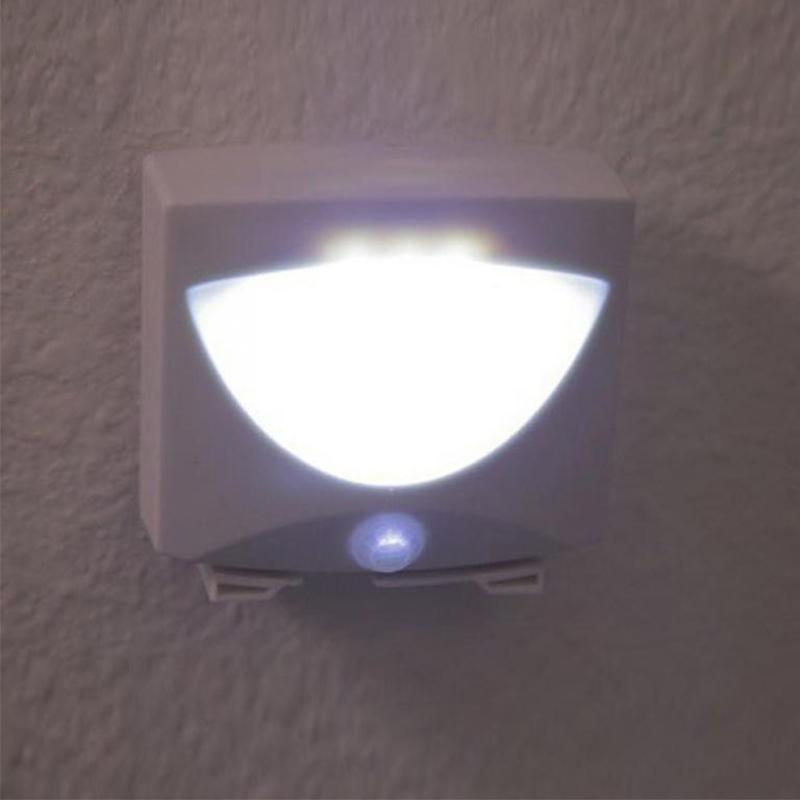 AKDSteel Mighty Light 3 LED Motion Sensor Activated Night Light Indoor&Outdoor For Stair Closet Hallway