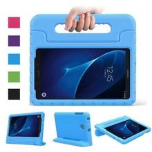 Eva stand case cubierta para el samsung galaxy tab a 7.0 pulgadas tablet t280 t285 tablet case con el sostenedor de la mano y protector de pantalla