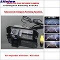 Liislee Высококачественная интеллектуальная Автомобильная задняя камера заднего вида для Hyundai Veloster/Kia Soul/NTSC PAL RCA CCD 580 TV Lines