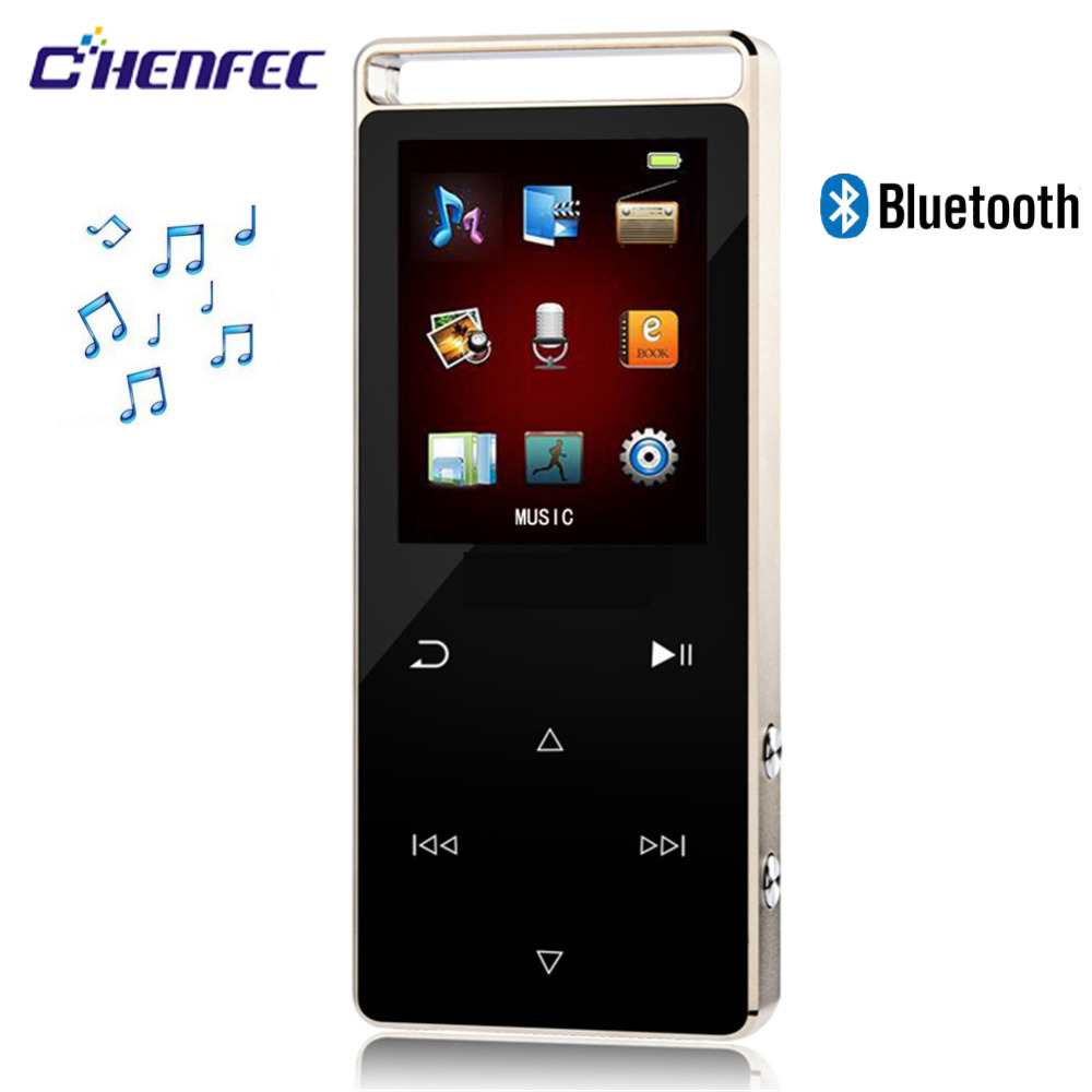 Bluetooth Touch Screen MP3 Player 8GB Digital Sound High Quality and Pedo Meter Video Audio Player Music Player D01