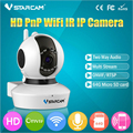 720P HD Wireless Video Baby Monitor WIFI IP Camera Support 64G SD Card and IR Cut Night Vision Intercom