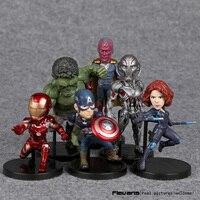 Marvel Avengers 2 Age Of Ultron Hulk Black Widow Vision Ultron Iron Man Captain America Action