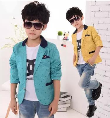 6ca63e3edc47 Hot sale three color baby boys blazer fashion casual design pure ...