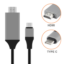 USB C to HDMI USB three.1 Kind C Male to HDMI Male 4K 2K Excessive Pace Cable Adapter for MacBook Professional Cell Telephone Connector