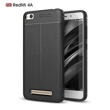 hot deal buy for xiaomi redmi 4a case luxury tpu rubber back cover for redmi 4a cover case silicone soft carbon  fiber back phone case