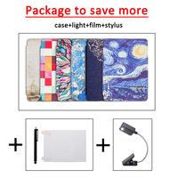 Cover Case For Amazon Kindle 4 Kindle 5 Ereader Art Protective Cover Skin Kindle Reading Light