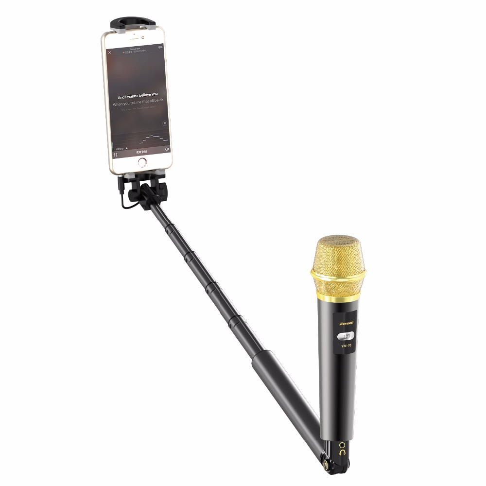 selfie stick condenser karaoke