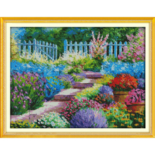Everlasting love Colorful rural (2) Ecological cotton Chinese cross stitch kits  counted stamped 11 CT 14 New sales promotion