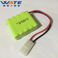 12V 800mAh Ni MH Battery Rechargeable AAA Applicable To Model Plane Toy Car