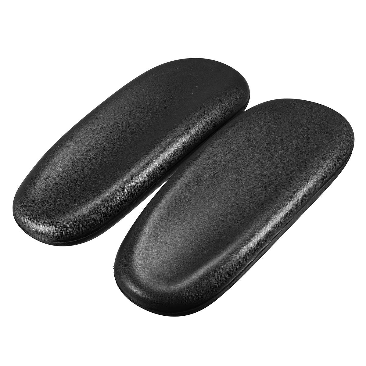 2pcs Chair Armrest Pad Replacement Office Chair Parts Support Arm Cushion Pads 25x9.8x3.6cm