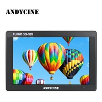 ANDYCINE A7 7 Inch IPS Screen 1920X1200 3G SDI 4K HDMI Input and Output Camera Video Monitor With Power Adapter/SDI Cable