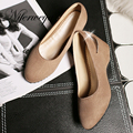 2017 Fashion spring/autumn women pumps ladies Office & Career shoes big size 30-52 Metal decoration Slip-On High heels HQW-626