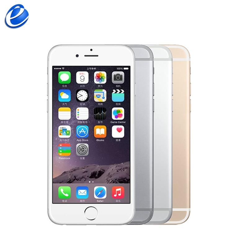 Genuine Apple iPhone 6 Plus Unlocked 5 5 inch IOS fingerprint 4G LTE 1GB RAM 16