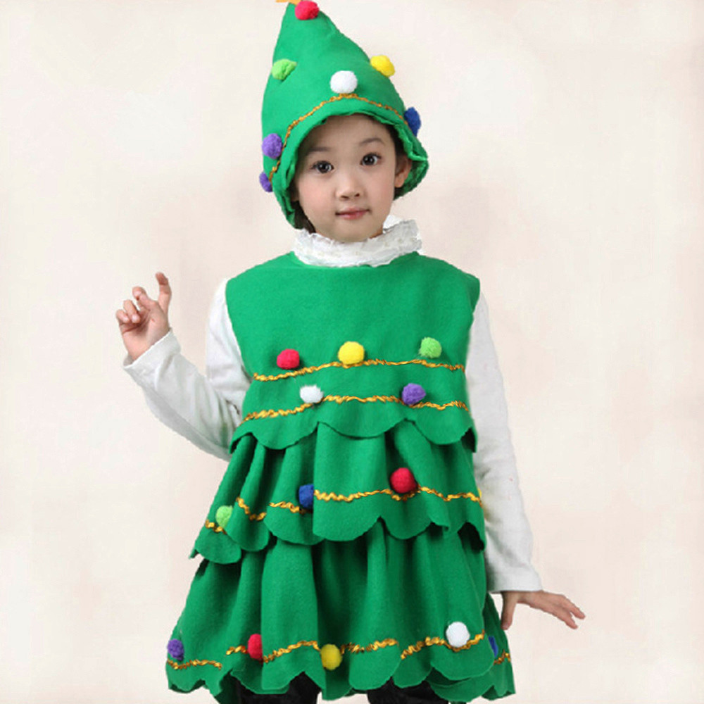 Winter Warm Clothes Hot Sale Children Clothing Toddler Kids Baby Girls Christmas Tree Costume Dress Tops Party Vest+Hat Outfits-in Dresses from Mother ...  sc 1 st  AliExpress.com & Winter Warm Clothes Hot Sale Children Clothing Toddler Kids Baby ...