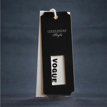 High-end tag clothing hangtag Crystal braille effect logo
