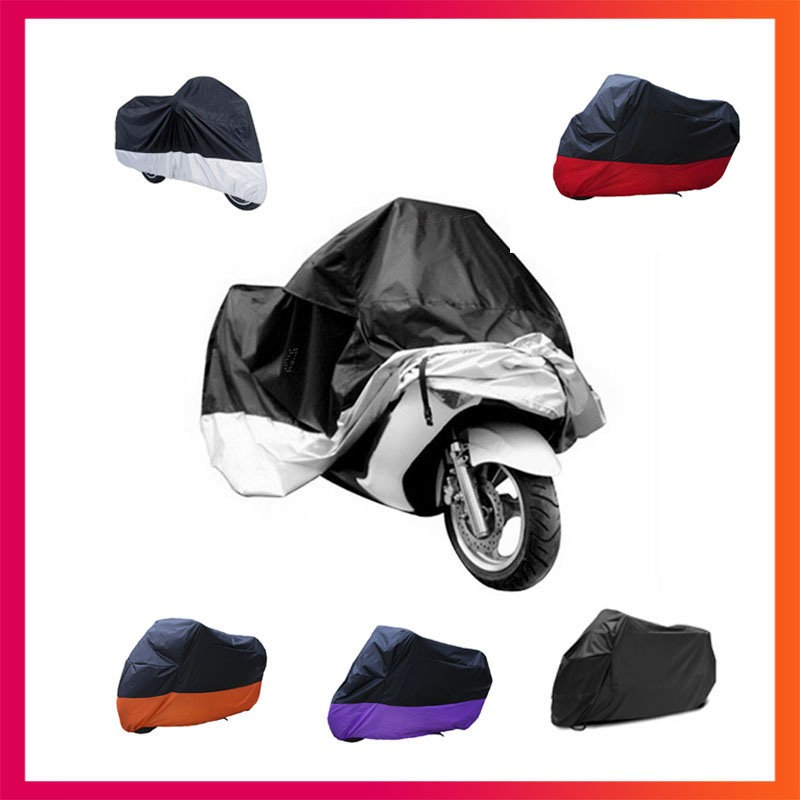 Motorcycle Cover Waterproof Outdoor Motorbike Cover For Moto Scooter  Motorbike Street Sport Bikes Cover UV Protective Rain