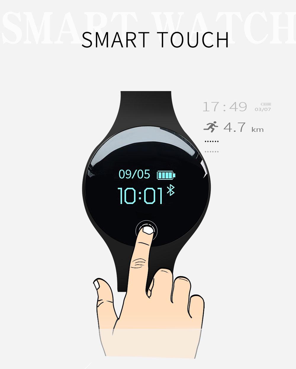 Reloj inteligente podómetro Bluetooth 3