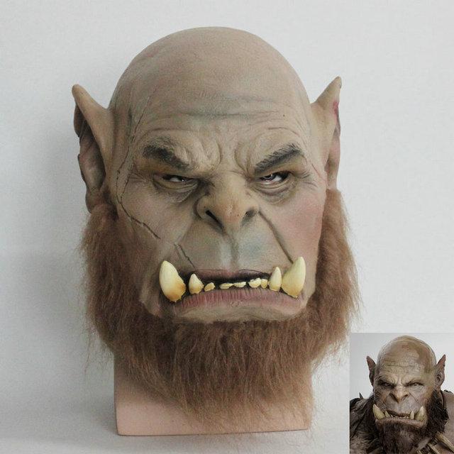 2016 Movie World of Warcraft Mask Ogrim Doomhammer Latex Mask Party Halloween Mask