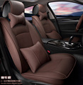 5 pcs / set 2016 auto supply natural leather car seat cover cushion cowhide leather car seat covers cushion simple comfortable