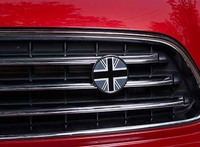 2015 Auto Accessories Badge Emblem Logo For Mini Cooper Clubman Countryman Front Net Decoration Modified Parts