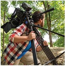 benro BV6/BV4/BV8/BV10 Series Camera Tripod Adjustable Damping Hydraulic PTZ Photography Professional