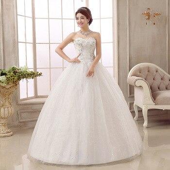 Custom Plus Size Wedding Dress Lace Vintage Tulle Ball Gown Cheap Wedding dresses Bridal Gown pakaian pengantin