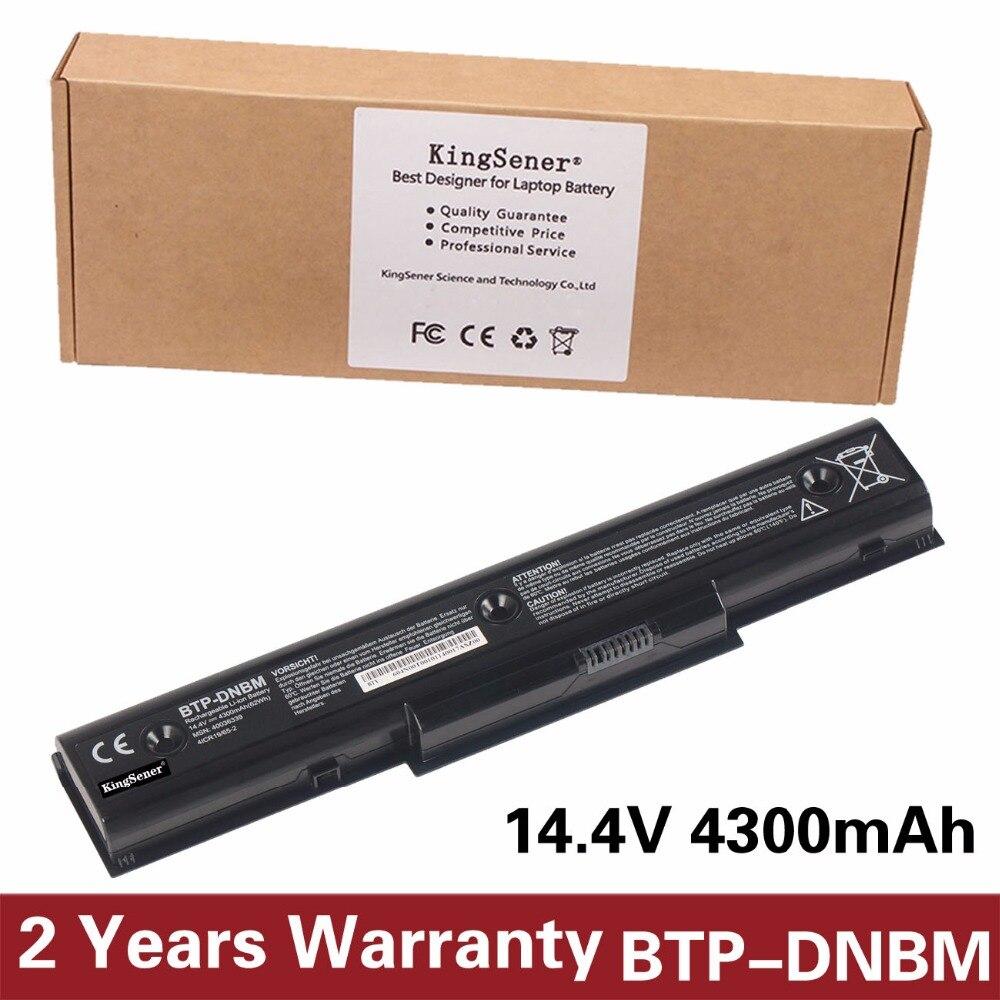 KingSener Corée Portable Nouveau BTP-DNBM batterie d'ordinateur portable pour Medion Akoya E7218 P7812 P7624 MD98920 MD98680 MD98950 BTP-DNBM BTP-DOBM