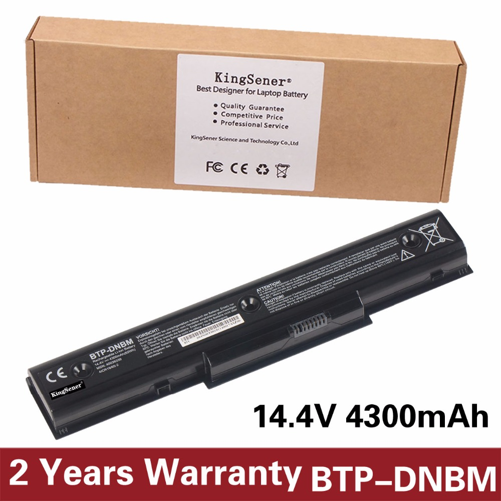 KingSener Korea Cell New BTP-DNBM Laptop Battery for Medion Akoya E7218 P7812 P7624 MD98920 MD98680 MD98950 BTP-DNBM BTP-DOBM 14 4v 3000mah us55 4s3000 s1l5 40046152 4icr19 66 original battery for medion akoya md98736 s6212t md99270 s6615t s621xt s6211t