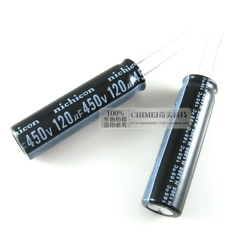 Electrolytic capacitor 450V 120UF LED LCD TV capacitors image