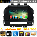 4 Cores Quad Core Pure Android 4.4 Car DVD Player Opel Astra J 2010 2011 2012 2013 Vauxhall Astra With 16G Internal Memory GPS